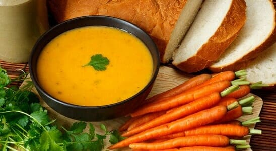 Simple Carrot Soup Recipe